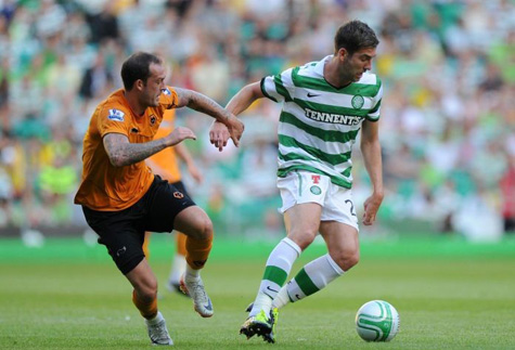 Celtic Match Pictures. Charlie-mulgrew