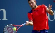US Open: Dan Evans beats Bernard Tomic to reach third round