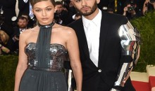 GiGi takes her knight in shining armour to Met Gala