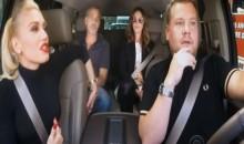 Gwen Stefani does Carpool Karaoke