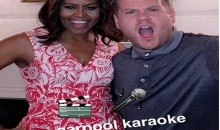 Michelle Obama gets her freak on for Carpool Karaoke