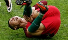 EURO 2016 Final: Cristiano Ronaldo stretchered off in tears
